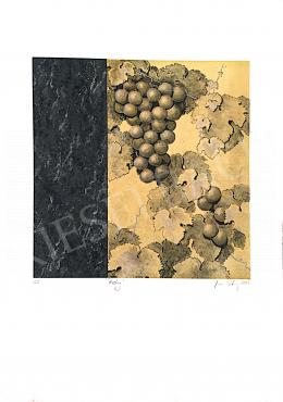 Ismeretlen művész olvashatatlan szignóval - Riesting, 2001