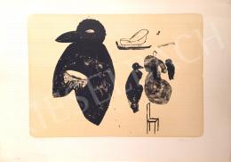 Ismeretlen művész olvashatatlan szignóval - Probe II, 1996