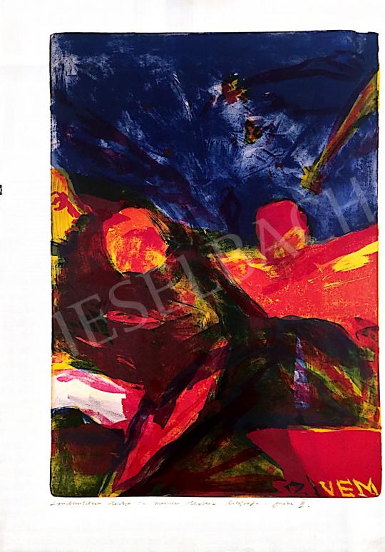 Eladó  Ismeretlen művész olvashatatlan szignóval - Londonischer Herbst in meinen Herzen festménye