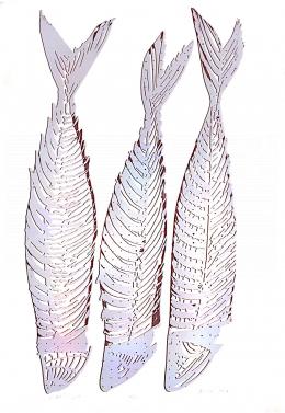 Bodor, Anikó - Fishes, 1997
