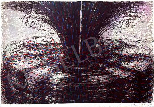 Eladó  Péter Ágnes - Speed I., 1997 festménye