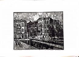 Ismeretlen művész olvashatatlan szignóval - Potsdam, 1977