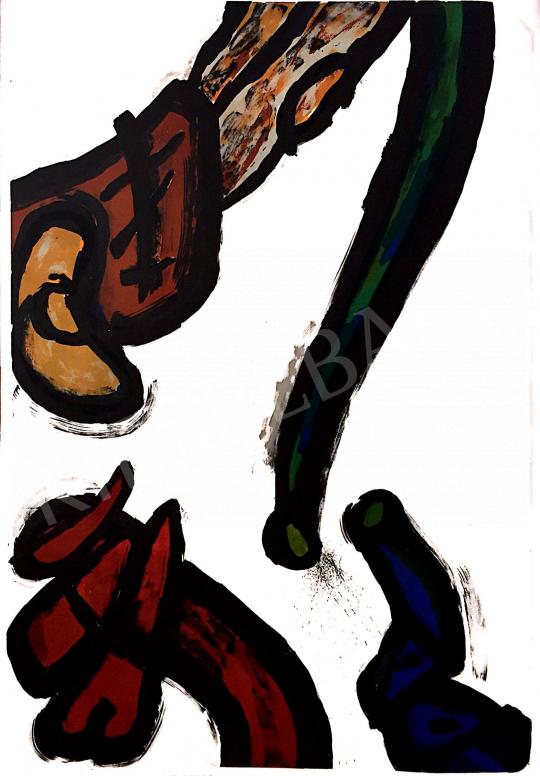 Eladó  Szabados Árpád - Barlang I-IX. festménye