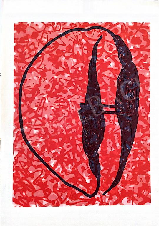 Eladó Kalmár István - Angyali történet, 1997 festménye