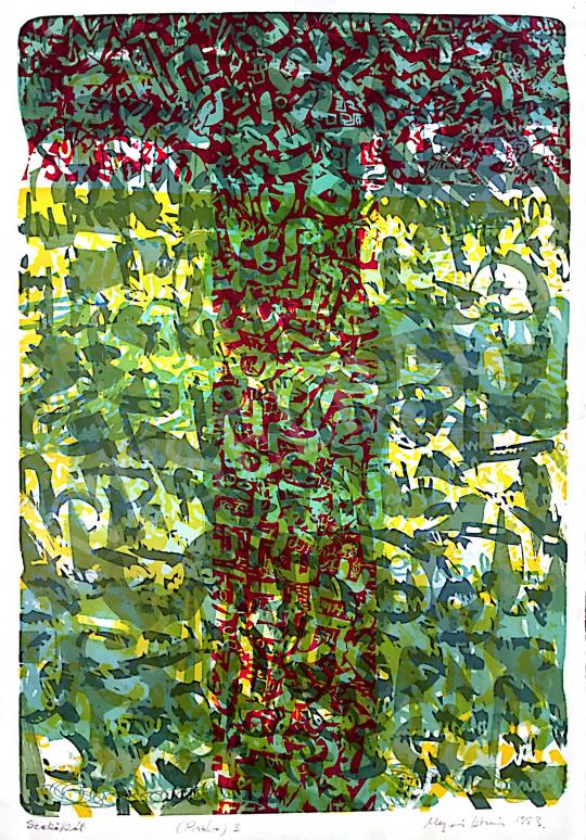 Eladó  Mayer István - Szökőkút, 1993 festménye