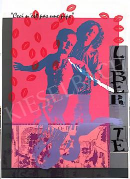 Ismeretlen művész olvashatatlan szignóval - Liberté