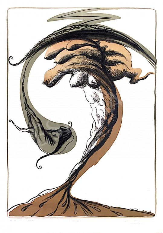 For sale  Telek, Balázs - Zu the Divine Storm Bird, 1999. 08. 11. 's painting