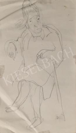 Szabó Vladimir - Idős női portré