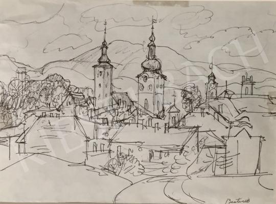 Eladó  Szabó Vladimir - Beszterce festménye