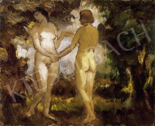 Iványi Grünwald Béla - Női aktok | 7. Aukció aukció / 100 tétel
