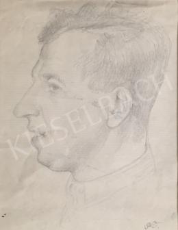 Szabó Vladimir - Férfi portré