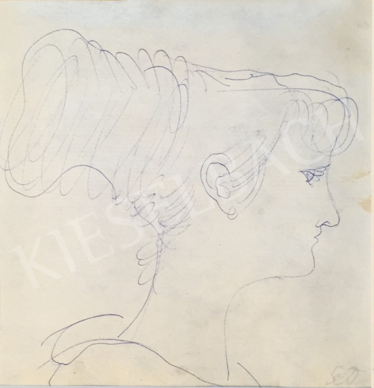Eladó  Szabó Vladimir - Női portré festménye