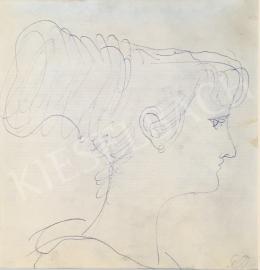 Szabó Vladimir - Női portré