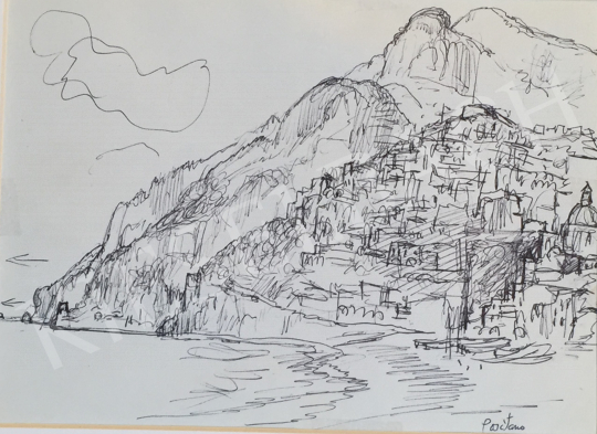 For sale  Szabó, Vladimir - Positano 's painting