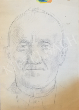 Szabó Vladimir - Idős férfi portré