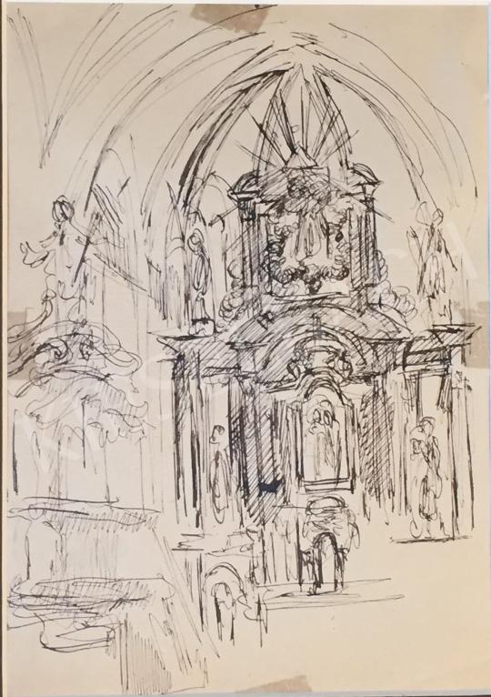 For sale  Szabó, Vladimir - Temple Detail 's painting