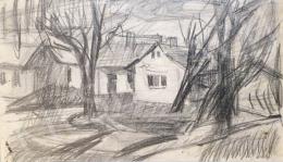 Gaál Imre Péter - Falusi házak