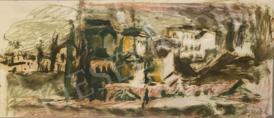 Eladó  Gaál Imre Péter - Városkép   festménye