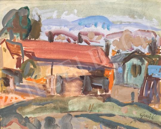 For sale  Gaál, Imre - Village 's painting