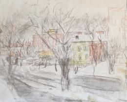 Gaál, Imre - Cityscape