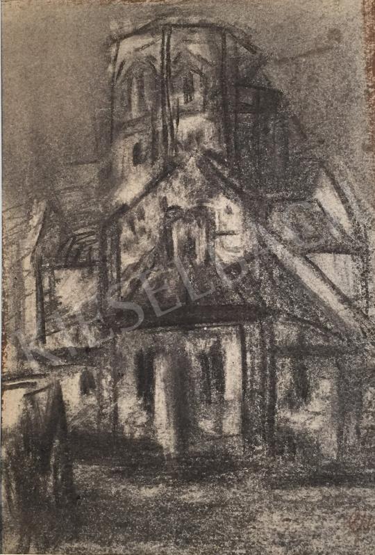 Eladó  Gaál Imre Péter - Templom festménye