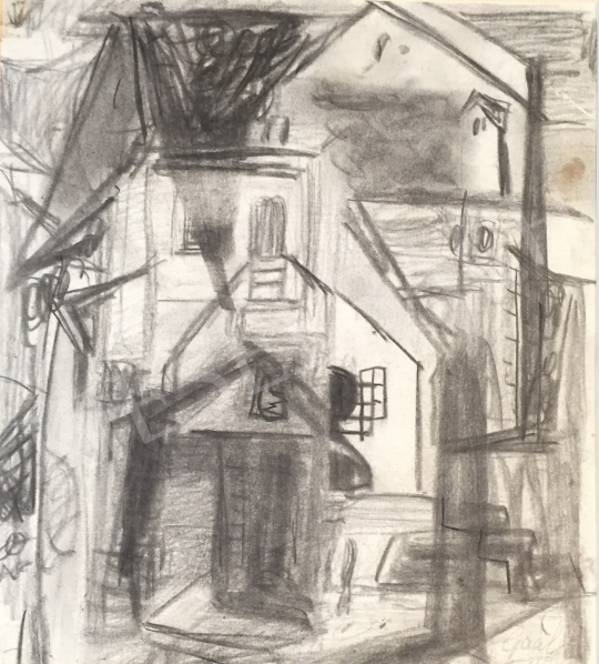For sale  Gaál, Imre - Houses 's painting