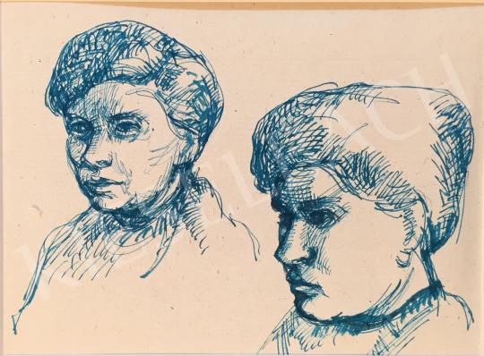 For sale Mizser, Pál - Kid Profile 's painting