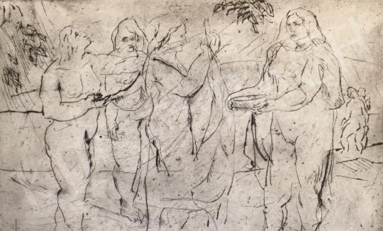 For sale Mizser, Pál - Group 's painting