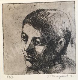 Mizser Pál - Férfi portré