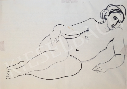 For sale Mizser, Pál - Female Nude 's painting