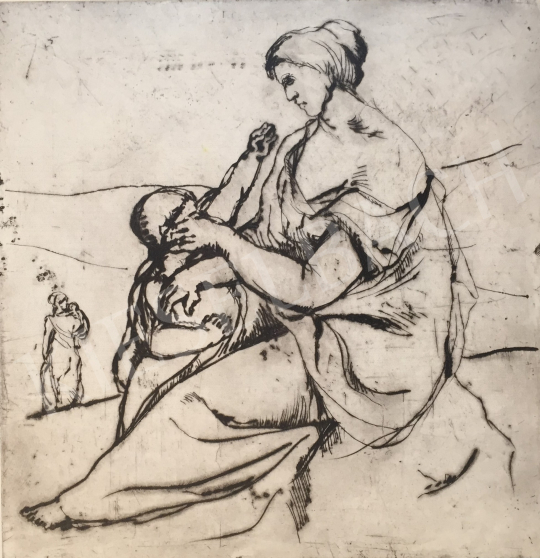 For sale  Mizser, Pál - Mother with Child 's painting