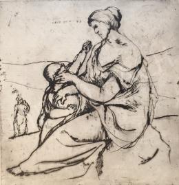 Mizser Pál - Anya gyermekével