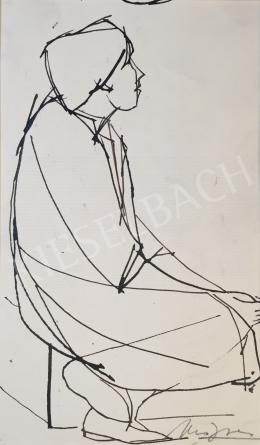 Mizser Pál - Gondolkodó nő