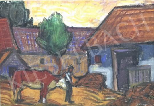 For sale  Sztojka László - Economic Yard 's painting