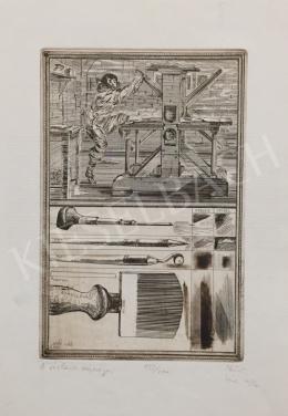 Ismeretlen művész, Kein jelzéssel - A rézkarc szépségei, 1986