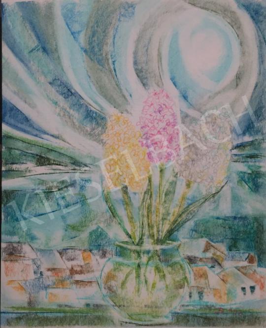 Eladó Dániel Kornél Miklós - Virágcsendélet, 1993 festménye