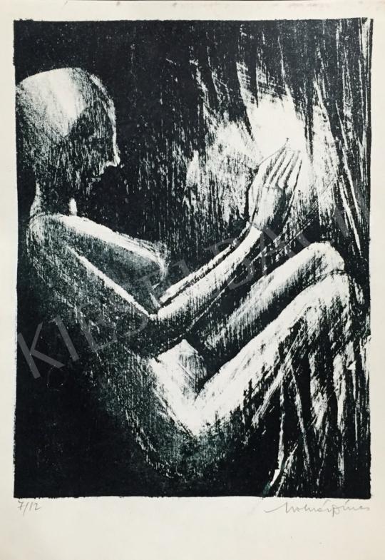 Eladó  Molnár Dénes - Akt festménye