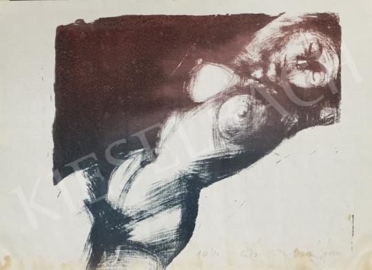 For sale Molnár, Dénes - Lying Female Nude 's painting