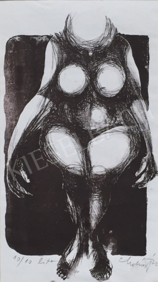For sale  Molnár, Dénes - Female Nude 's painting