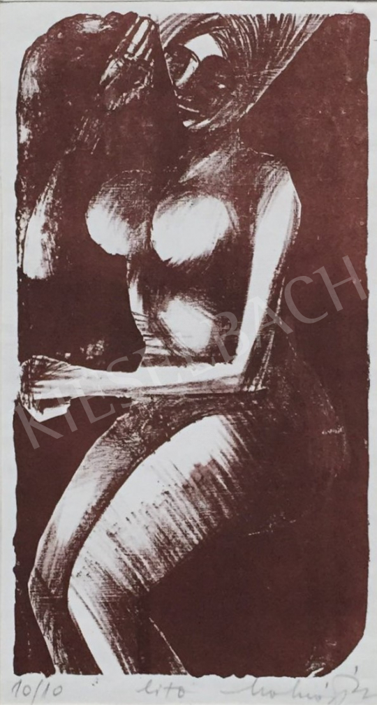 For sale  Molnár, Dénes - Female Nude 's painting