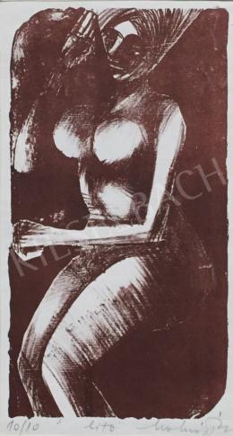 Molnár, Dénes - Female Nude