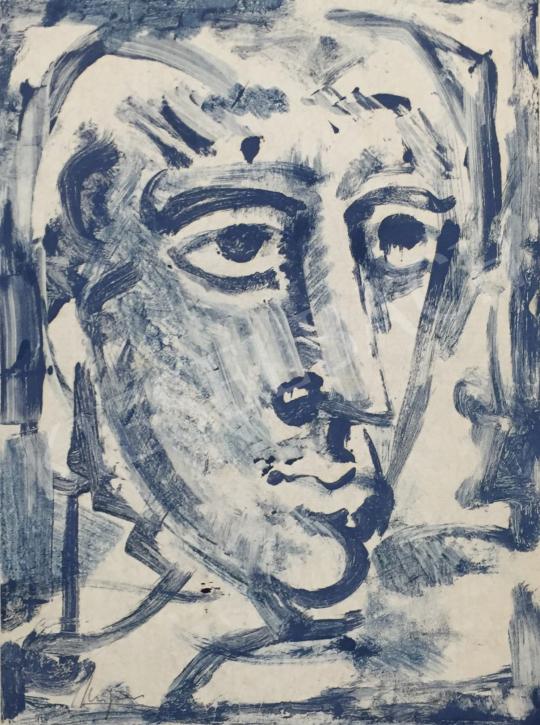 Eladó Mizser Pál - Férfi portré festménye