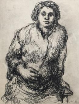 Mizser Pál - Várandós nő