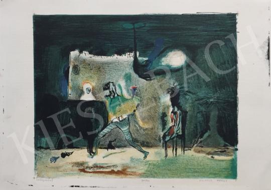 Eladó Vilhelm Károly - Belső enteriőr festménye