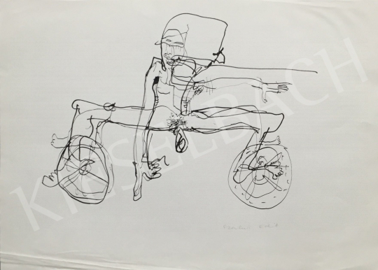 For sale Szalma, Edit - The Oeuvre of the Bicycle 's painting