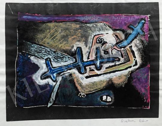 Eladó  Szalma Edit - Metamorfózis 4.  festménye