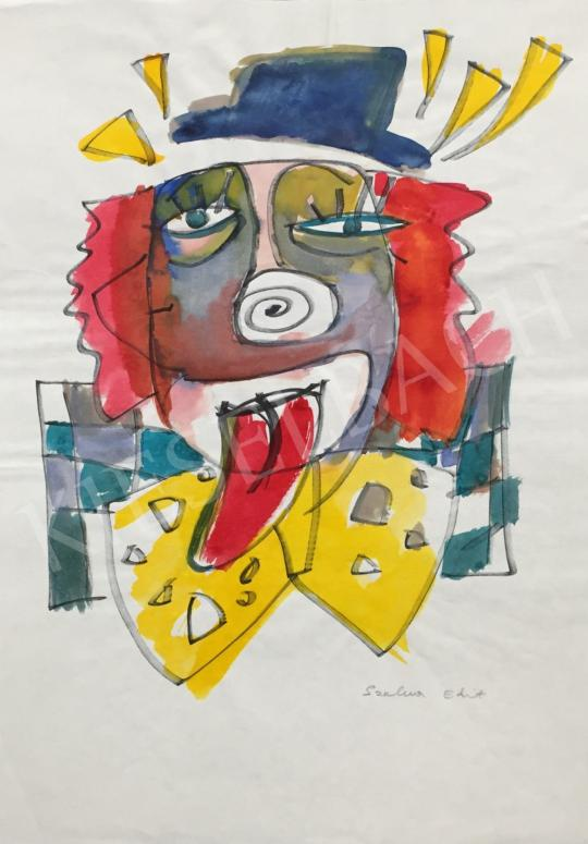 For sale  Szalma, Edit - Sad Clown 's painting