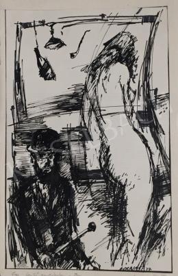 Borbély Ferenc Gusztáv - Egy festő emlékére