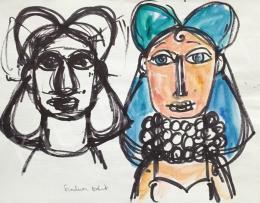 Szalma Edit - Női portré
