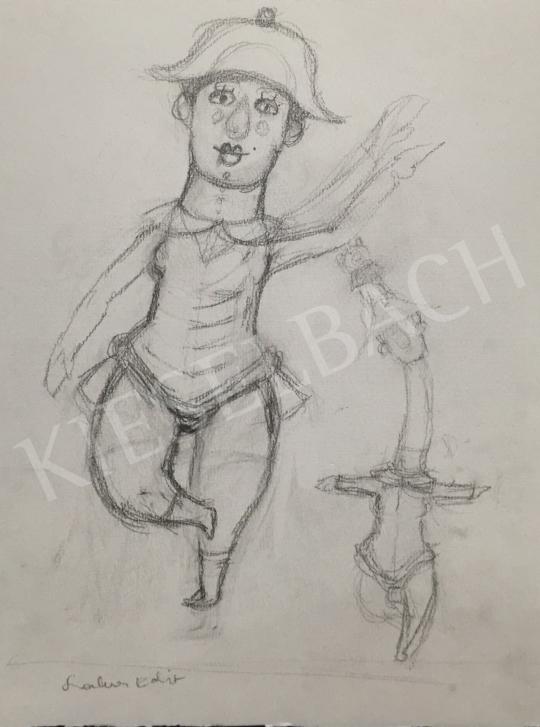 For sale  Szalma, Edit - Clown 's painting